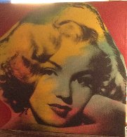 Marilyn Series Embellished 1995 Limited Edition Print by Steve Kaufman - 2