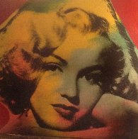 Marilyn Series Embellished 1995 Limited Edition Print by Steve Kaufman - 1