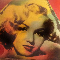 Marilyn Series Embellished 1995 Limited Edition Print by Steve Kaufman - 0