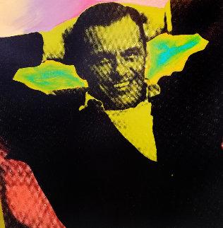 Frank Sinatra  AP  Embellished Limited Edition Print by Steve Kaufman