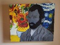 Van Gogh Embellished  Limited Edition Print by Steve Kaufman - 1