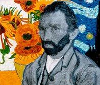 Van Gogh Embellished  Limited Edition Print by Steve Kaufman - 0