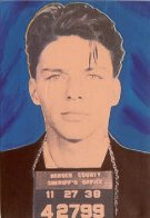 Frank Sinatra Mugshot Suite AP 2002 Limited Edition Print by Steve Kaufman - 0