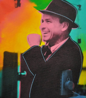 Frank Sinatra 1975 Limited Edition Print by Steve Kaufman