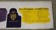 To Hell And Back 2000 Unique 15x48 Limited Edition Print by Steve Kaufman - 4
