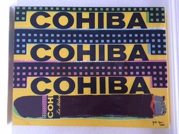 Triple Cohiba 1998 Limited Edition Print by Steve Kaufman