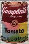 Campbell's Soup Can Unique 1995 34x21 Original Painting - Steve Kaufman