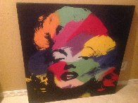Marilyn (series Iii) 1995 Embellished Limited Edition Print by Steve Kaufman - 2