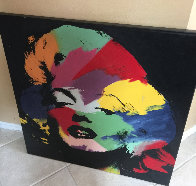 Marilyn (series Iii) 1995 Embellished Limited Edition Print by Steve Kaufman - 1
