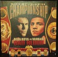 De La Hoya vs. Vargas - Bad Blood 2002 HS Limited Edition Print by Steve Kaufman - 1