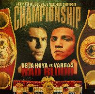 De La Hoya vs. Vargas - Bad Blood 2002 HS Limited Edition Print by Steve Kaufman - 0