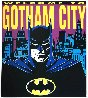 Batman: Welcome to Gotham City 1995 Limited Edition Print by Steve Kaufman - 1