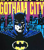 Batman: Welcome to Gotham City 1995 Limited Edition Print by Steve Kaufman - 0