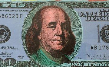New $100 Dollar Bill (American Money) Limited Edition Print - Steve Kaufman