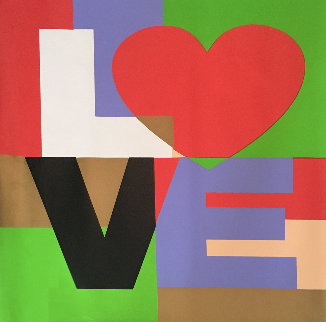 Love  2005 Embellished Limited Edition Print by Steve Kaufman