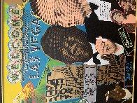 Rat Pack Sands 2014 Embellished Limited Edition Print by Steve Kaufman - 1
