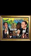 Rat Pack Sands 2014 Embellished Limited Edition Print by Steve Kaufman - 5