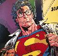 Superman  1995 60x60 Original Painting - Steve Kaufman