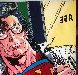 Superman  1995 60x60 Original Painting by Steve Kaufman - 8