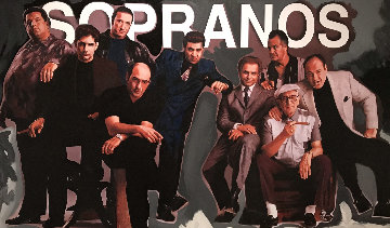 Sopranos Unique  36x60 Super Huge Original Painting - Steve Kaufman