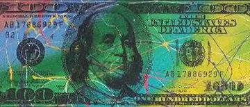 100 Dollar Bills Set of Four Prints 2010 Limited Edition Print by Steve Kaufman