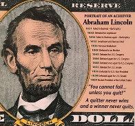 Portrait of an Achiever AP Abraham Lincoln Limited Edition Print by Steve Kaufman - 0