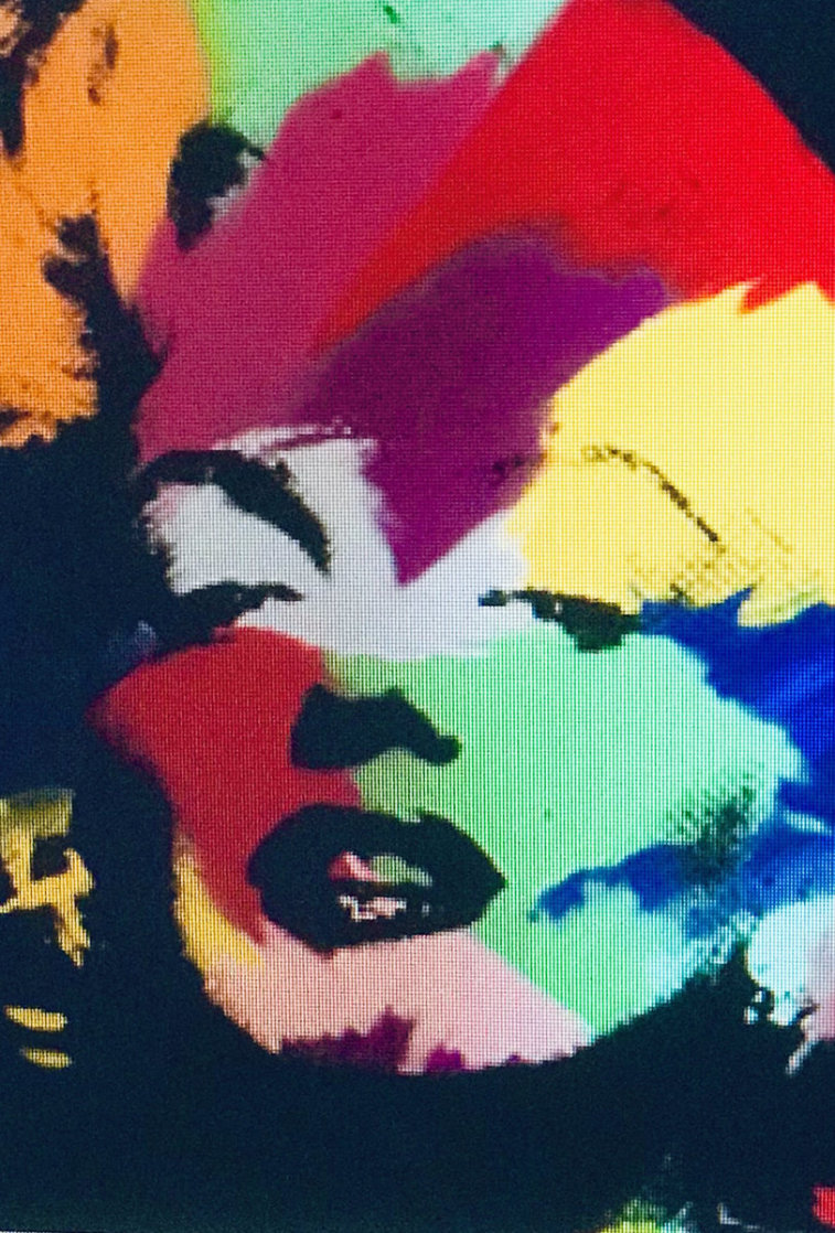 Marilyn Series II   1995 Embellished Limited Edition Print by Steve Kaufman