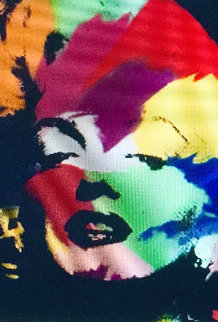 Marilyn Series II   1995 Embellished Limited Edition Print - Steve Kaufman