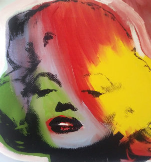 Marilyn Series 1995 Embellished Limited Edition Print by Steve Kaufman