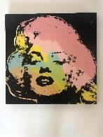Mini Marilyn 3 (Midnight) AP 1995 Embellished Limited Edition Print by Steve Kaufman - 2