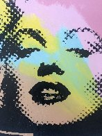 Mini Marilyn 3 (Midnight) AP 1995 Embellished Limited Edition Print by Steve Kaufman - 3