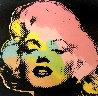 Mini Marilyn 3 (Midnight) AP 1995 Embellished Limited Edition Print by Steve Kaufman - 0