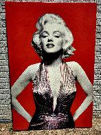 Marilyn Unique 2005 60x40 Original Painting by Steve Kaufman - 1