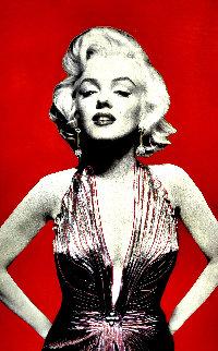 Marilyn 2005 60x40 Original Painting - Steve Kaufman