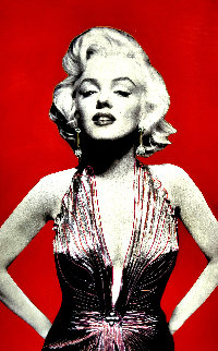Marilyn Unique 2005 60x40 Original Painting - Steve Kaufman