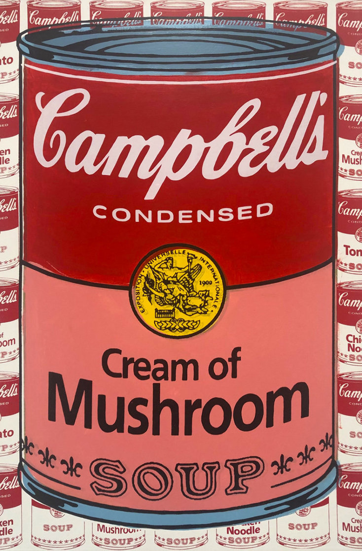 Campbells Soup I Cream of Mushroom AP Limited Edition Print by Steve Kaufman