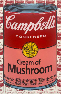 Campbells Soup I Cream of Mushroom AP Limited Edition Print - Steve Kaufman