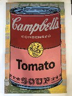 Campbells Soup II Tomato Embellished Limited Edition Print by Steve Kaufman - 1