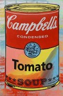 Campbells Soup II Tomato Embellished Limited Edition Print by Steve Kaufman - 0