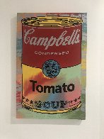 Campbells Soup II Tomato AP Embellished Limited Edition Print by Steve Kaufman - 1