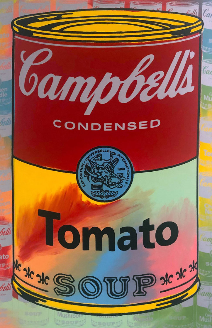 Campbells Soup II Tomato AP Embellished Limited Edition Print by Steve Kaufman