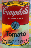 Campbells Soup II Tomato AP Embellished Limited Edition Print by Steve Kaufman - 0