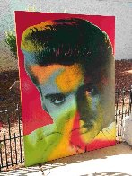 Elvis in Red 1996 Limited Edition Print by Steve Kaufman - 4