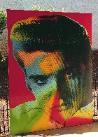 Elvis in Red 1996 Limited Edition Print by Steve Kaufman - 2