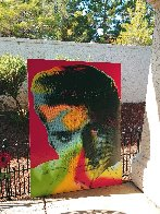 Elvis in Red 1996 Limited Edition Print by Steve Kaufman - 3