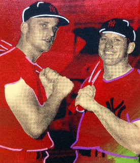 Mickey Mantle And Roger Maris 2005  Limited Edition Print - Steve Kaufman