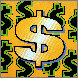 Dollar Sign Gold 2004 Limited Edition Print by Steve Kaufman - 1