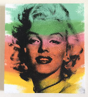 Norma Jean, Marilyn Monroe Ap 1999 Limited Edition Print by Steve Kaufman - 1