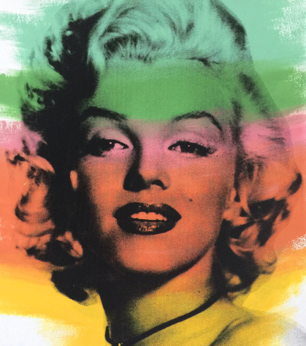 Norma Jean, Marilyn Monroe Ap 1999 Limited Edition Print by Steve Kaufman