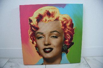 Marilyn Icon - Multi Embellished Limited Edition Print - Steve Kaufman